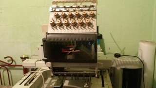 Embroidery machine toyota. Mesin sulam