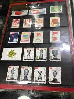 中國郵票,全新,7套共售:250元