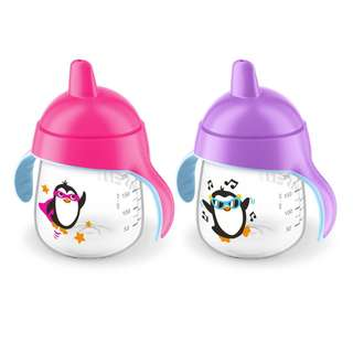 Philips Avent My Penguin Sippy Cup 260ml x 2