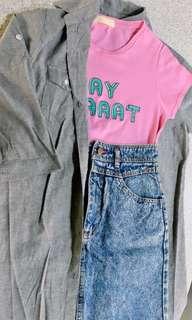 🌸Pastel Pink Shirt