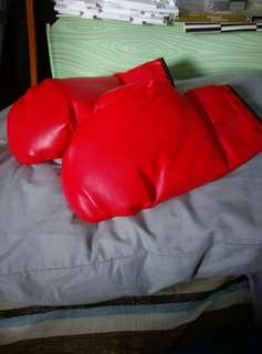 BN red boxing gloves