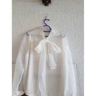 Korean style chiffon blouse