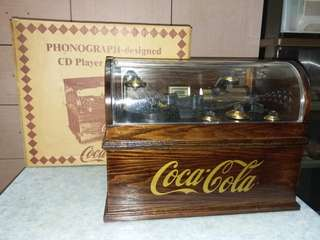 Coca-Cola Phonograph-design CD Player with Radio 可口可樂古典CD及收音機