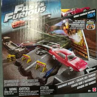 Mattel fast and furious cars