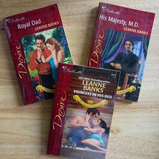 The Dumonts series by Leann Banks