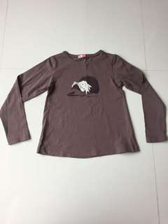 French brand brown long sleeve