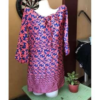 Thai inspired mini dress