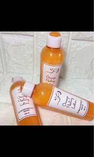 Orange peeling lotion