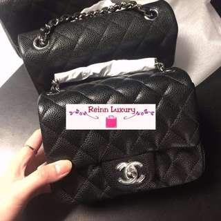 "Limited NEW Preorder: CHANEL ""MINI"" Square Exclusive from Europe*** Limited Edition***"