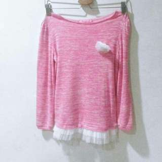 Girl Pink Sweater #20under