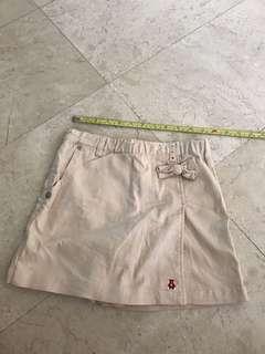 Skirt short pant