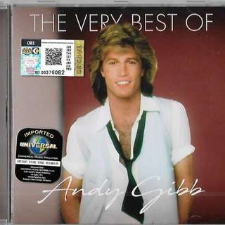 ANDY GIBB The Very Best of Imported CD