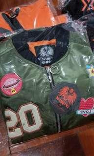 (包郵) SHINHWA 神話20周年 FM周邊 飛行夾克 外套 Flight Jacket