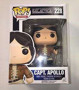 Battlestar Galactica Captain Apollo Funko Pop ( vaulted)