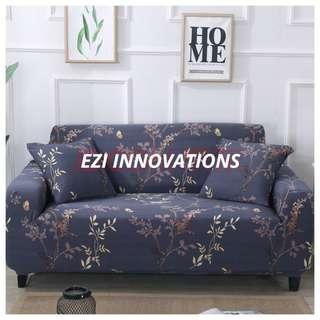 1/2/3 Seaters Elastic Sofa Cover - Goldenrod Dew Design