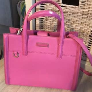 Charles and Keith satchel bag
