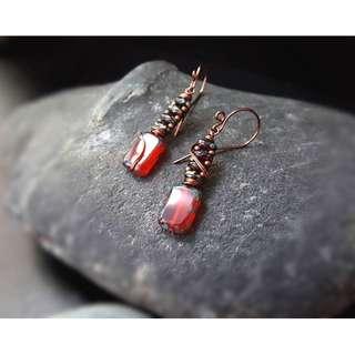 HANDMADE! Bead Earrings 10119