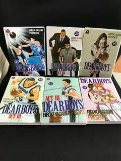 Dear Boys Basketball Manga comic books Act 3 (final)