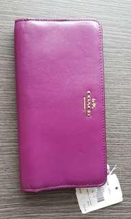 Authentic Coach long wallet