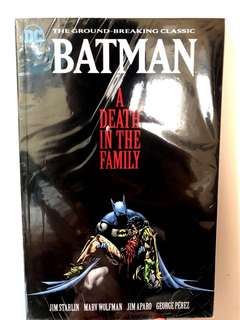 DC Batman A Death in the Family 古早漫
