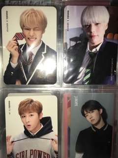 monsta x rush photocard