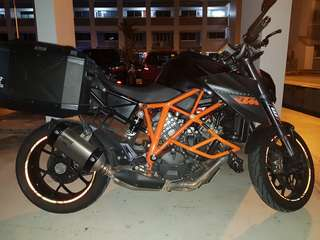 KTM Superduke 1290 Grounding Kit
