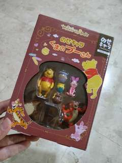 Winnie the Pooh Family Cake Topper Set.