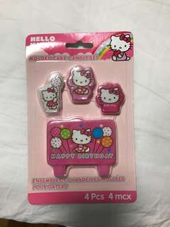 Hello kitty candle set - Brand new!