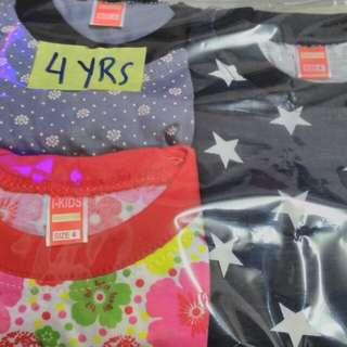 Combo girls pyjamas.