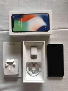 iPhone X - Space Grey, 64GB