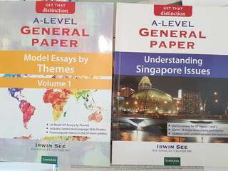 A Level GP (Understanding Singapore Issues) & (Model Essays by Theme - Vol 1)