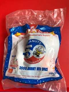 麥當勞經典絕版 Snoopy 50週年2000系列Journey into Space 公仔