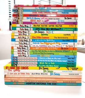 Dr.Seuss Children Books Series