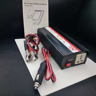 Vehicle 12V-DC to 230V-AC Convertor