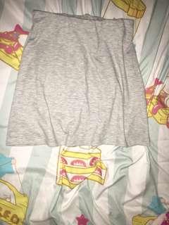 Cotton On grey skirt A字裙 半截裙