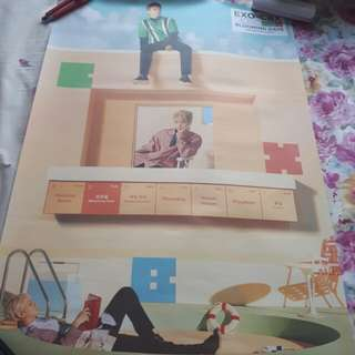 Poster EXO CBX - Blooming Day (Days Ver)