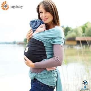 [Pre-Order] Ergobaby Wrap Carrier | Eucalyptus - Teal Wrap with Black Pocket [BG-WRPTEBPNL]