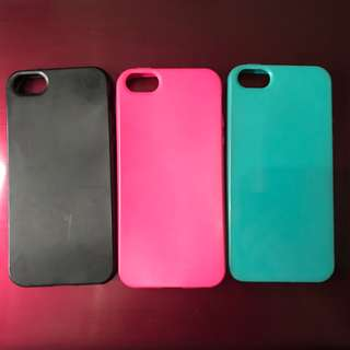 Case iPhone 5/5s Jelly