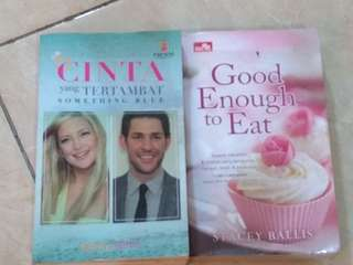 Chicklit (paket 2 buku) / SOMETHING BLUE / GOOD ENOUGH TO EAT