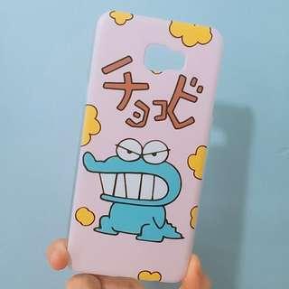 Samsung c7pro 手機殼 蠟筆小新