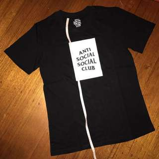 Anti Social Social Club BOX Tee Shirt BLACK ASSC #EOFYSALE
