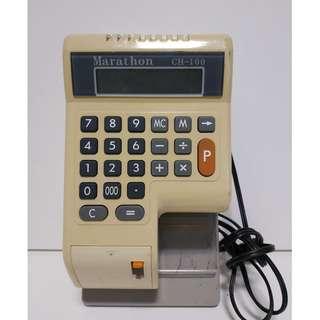尚典中古家具(二手家具)~中古支票機(二手支票打印機)Marathon支票打印機