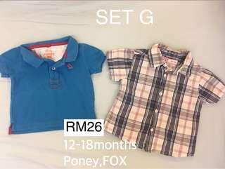 Preloved Baby Fox brand