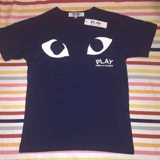 CDG COMME des GARÇONS t-shirt unisex M Navy #EOFYSALE
