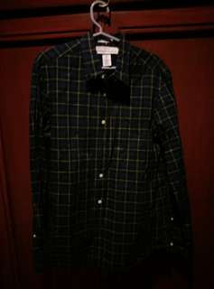 Plaid long sleeves (H&M and Volcom)