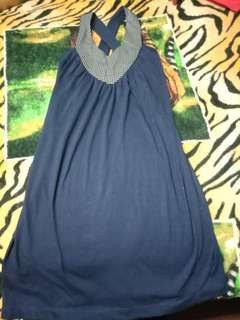 Dress (Navy Blue)