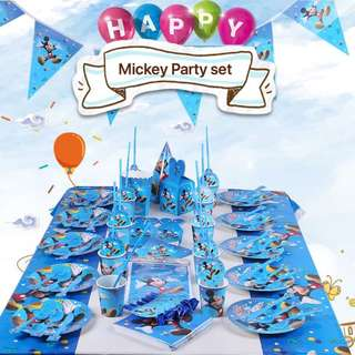 PO Mickey Mouse Party Set