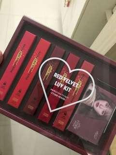 Etude Red Velvet Luv Kit