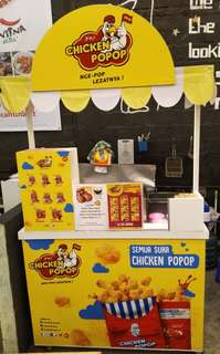 Jual Booth & Franchise Chicken Popop
