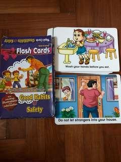 Good Habits & Safety Flashcards